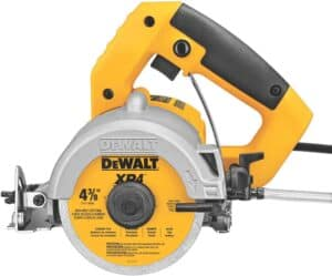 dewalt handheld wet tile saw