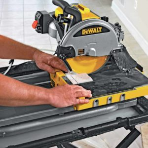 best wet tile saw