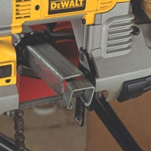 how to use a portable band saw