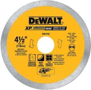 dewalt tile saw blade