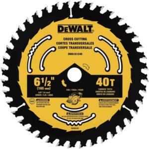 dewalt 6 1/2 circular saw blade