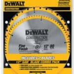 Best 10 and 12 inch miter saw blade