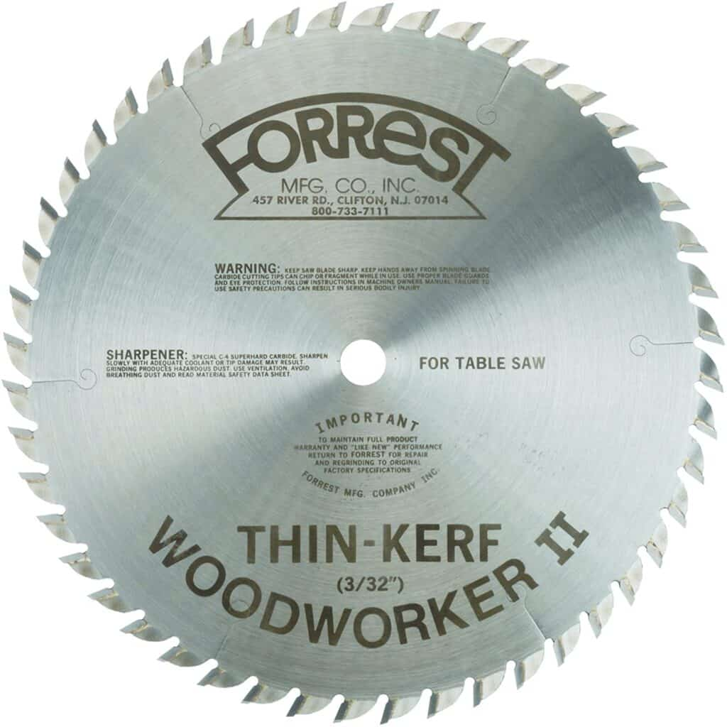 table saw blade type