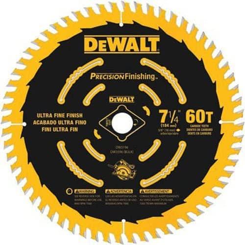 best 7 1/4 inch circular saw blade