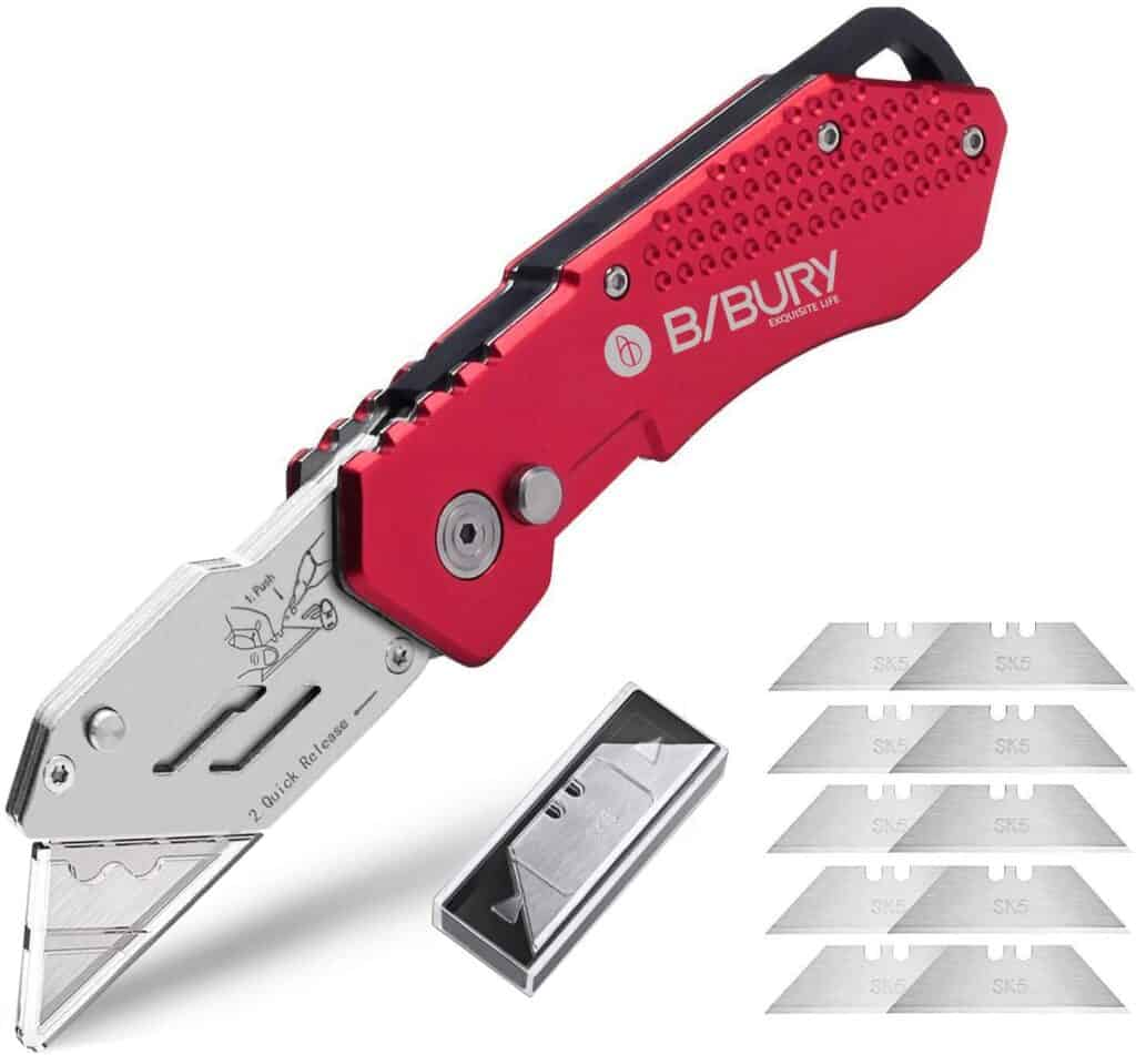 utility knife for cutting plastic