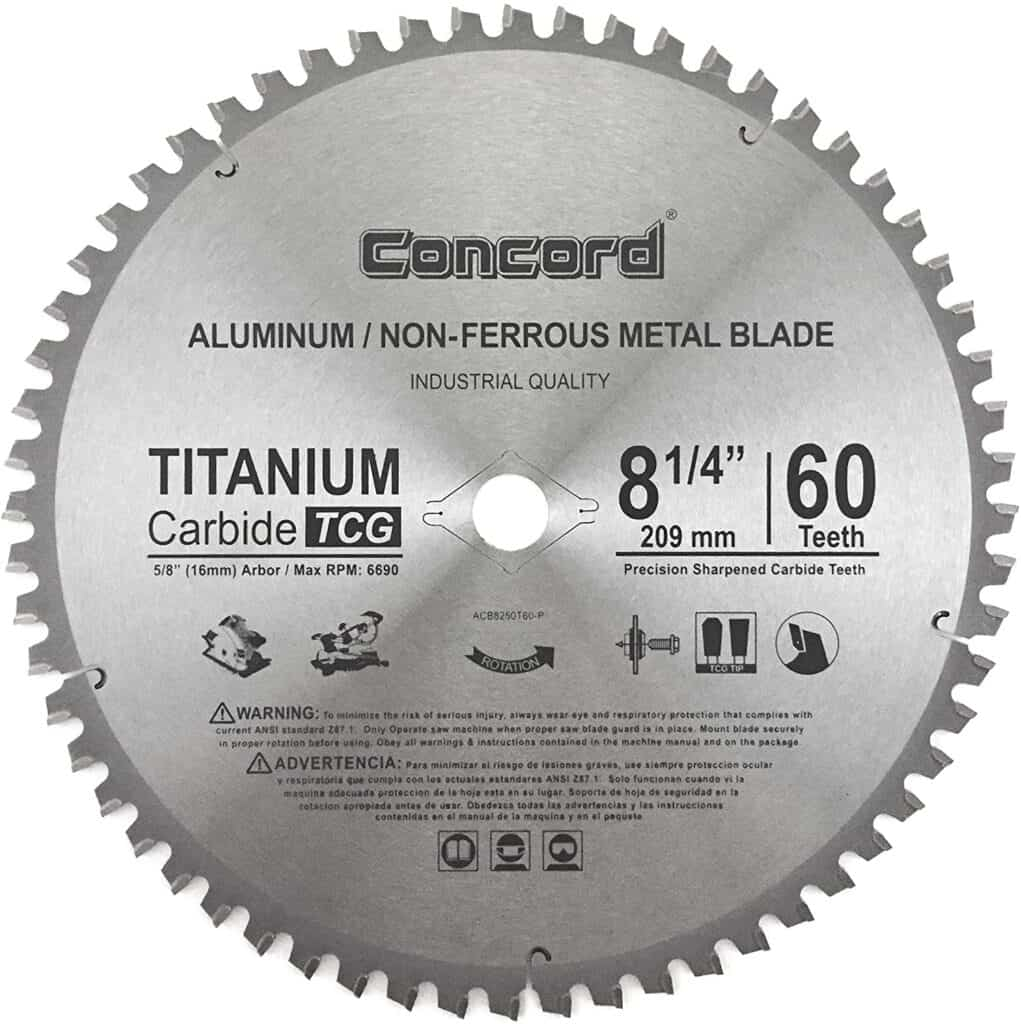 blade for cutting fiberglass